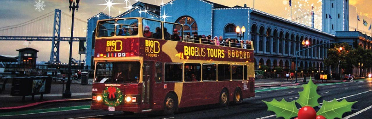 See The Holiday Lights With Big Bus Tours San Francisco Travel