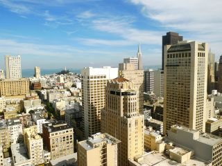 Views from atop the Westin St. Francis