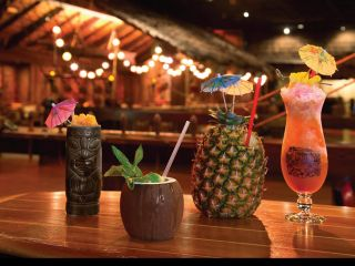 Cocktails at the Tonga Room