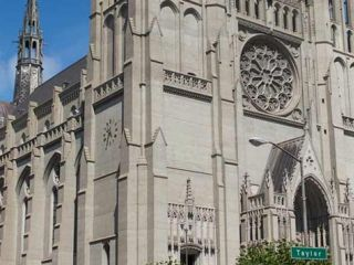 Painstakingly built brick by brick, mural by mural, over the course of 37 years, Grace Cathedral is both a tourist landmark and a symbol of hope and resurrection, thanks to its storied history.