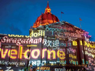 Here are four illuminated buildings worth discovering – two of San Francisco's oldest and two of its newest – that glow with a colorful luminescence after dark.