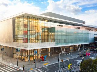 Learn about the scale of Moscone's contribution to the surrounding Yerba Buena neighborhood and the entire city of San Francisco