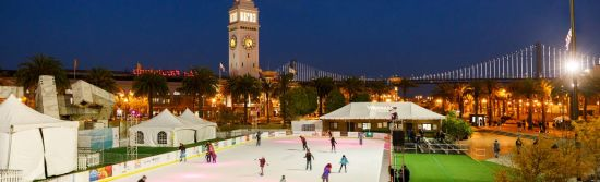You can find a ton of ice skating rinks without having to leave the city. Here are some of San Francisco's popular ice skating rinks to visit during the holidays.