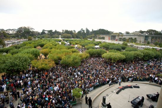 Outdoor concerts in Golden Gate Park
