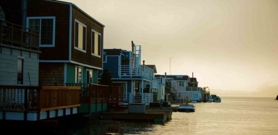 Charming Sausalito is a great place to spend a day, and can be easily reached on a beautiful ferry ride from San Francisco.