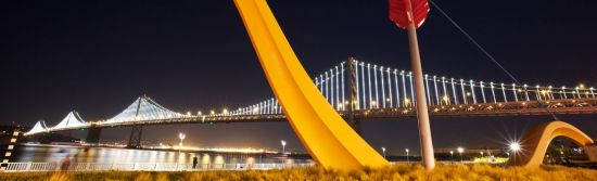 """Everything you need to know about San Francisco's largest, most recognized, and most impressive piece of light art, """"The Bay Lights""""."""
